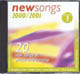 CD: NewSongs 2000/2001 (Vol. 2) - NewSongs